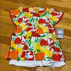Disney double layer dress/swim cover NWT 2